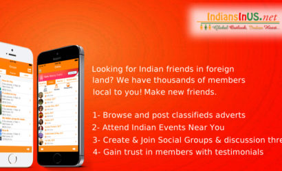 IndiansInUS – #1 Live Chat Events Free Classifieds