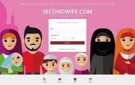 Site for Muslim men to find second wife sparks protest in UK